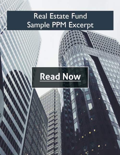 Private Placement Hedge Fund Attorneys – Sample Private Placement Memorandum