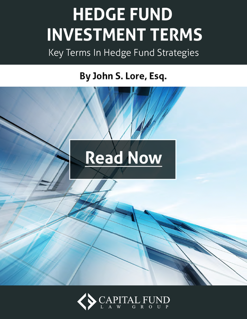 Hedge Fund Investment Terms