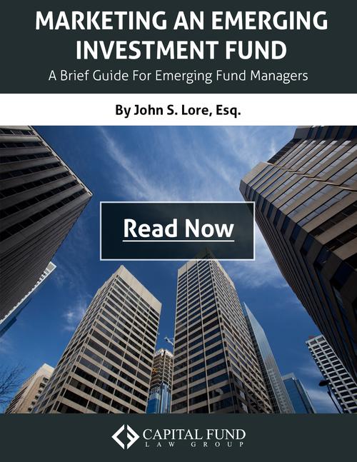 Marketing an Emerging Fund