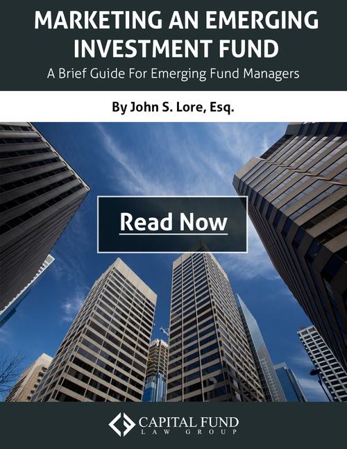 Marketing an Emerging Investment Fund