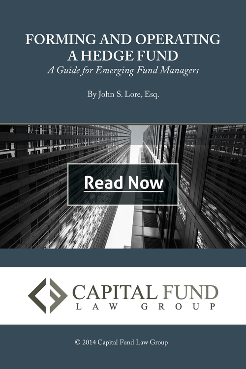 Forming & Operating a Hedge Fund